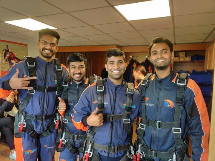 Skydiving Pre